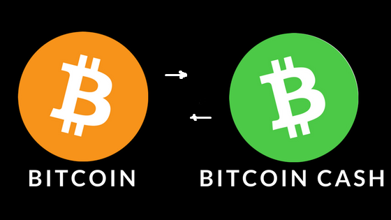 Обмен Bitcoin на Bitcoin Cash — мгновенно
