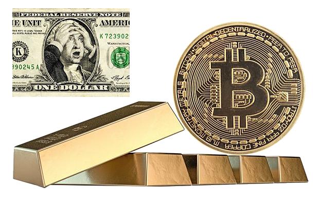 Биткоин лучше золота и американского доллара