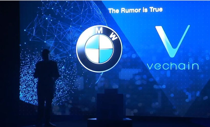 Компания VeChain заявила о сотрудничестве с автоконцерном BMW