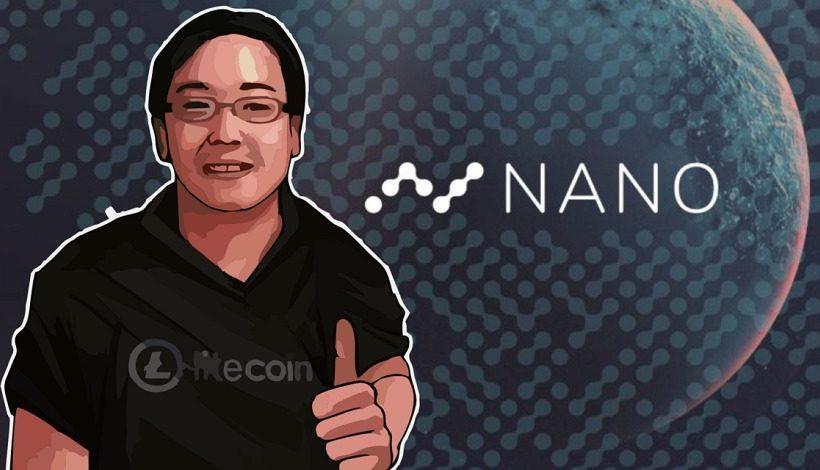 Создатель Litecoin Чарли Ли вложил средства в криптовалюту Nano