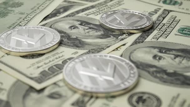 Пара LTC/USD упала ниже уровня ключевой поддержки — 200 долларов США