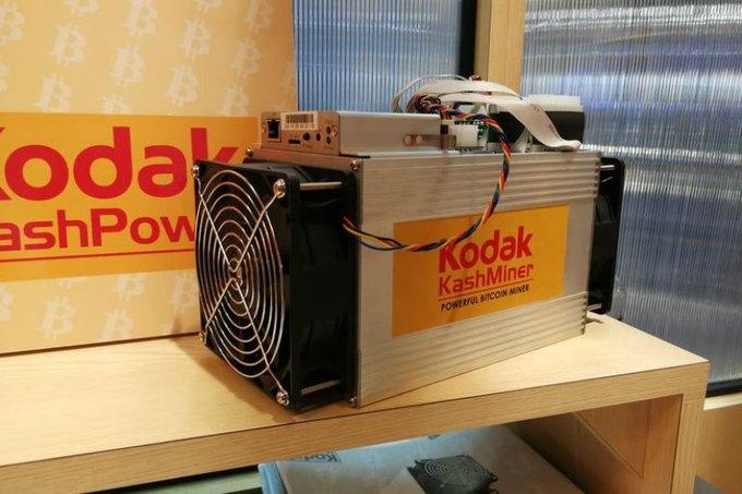 Kodak — майнинговый скам