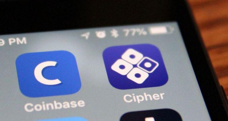 Coinbase приобрела стартап Cipher Browser
