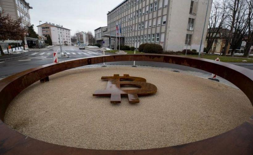 Первый в мире памятник блокчейну
