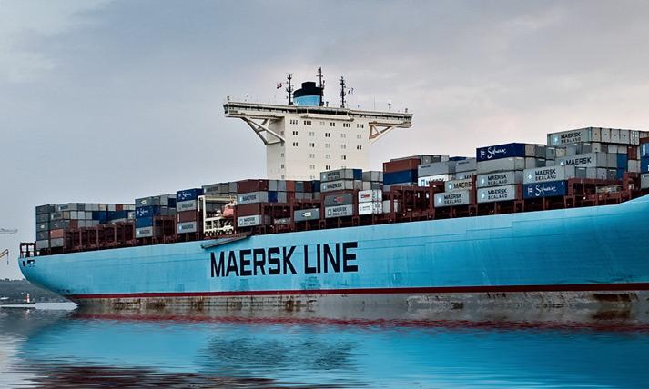 Maersk задействует блокчейн для страхования в области морских перевозок