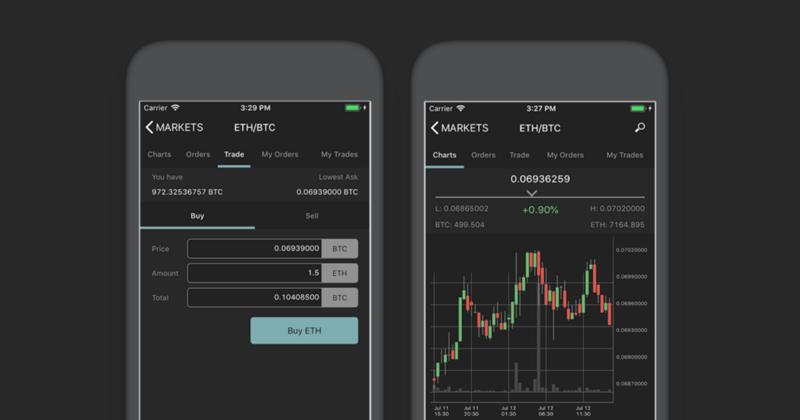 Poloniex запустила мобильное приложение