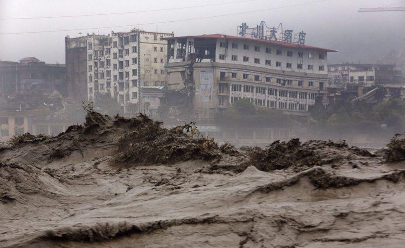 Новые подробности о недавнем наводнении в провинции Сычуань