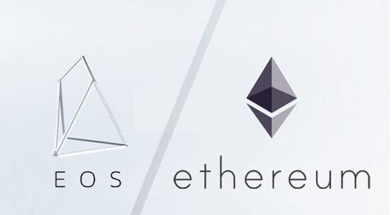 EOS уверенно обогнал Ethereum по количеству транзакций