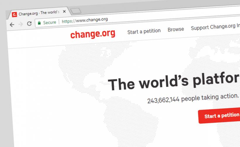 Change.org использует скринсейвер для майнинга Monero