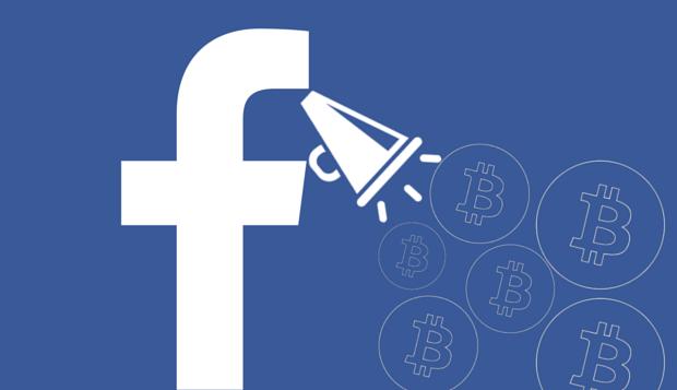 Facebook даст разрешение на публикацию рекламы криптобирж