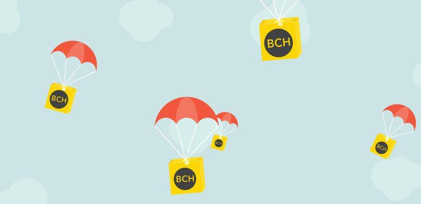 Официальная раздача Bitcoin Cash от BTC.com