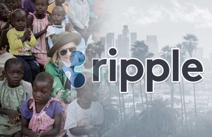 Ripple сотрудничает с Мадонной с целью сбора средств для детей-сирот в Малави