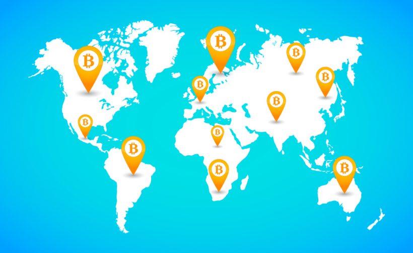 Криптоэнтузиаст посетил более 18 стран с 1 BTC на счету