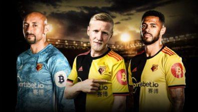 Футболисты английской Премьер-лиги будут носить логотипы биткоина на своих футболках