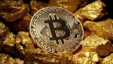 Биткоин опередил золото по темпам роста впервые с июня