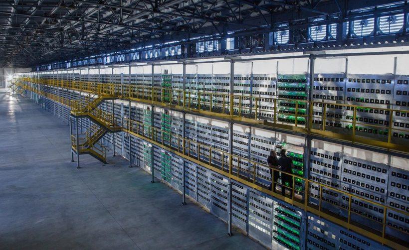 Крупнейшая в России майнинг-ферма (фото)