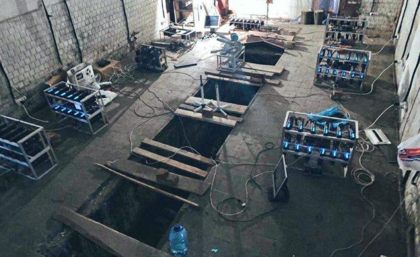 На Львовской железной дороге обнаружили майнинг-ферму