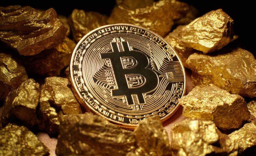 Биткоин теперь стоит больше, чем килограмм золота